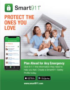 smart911 app flyers