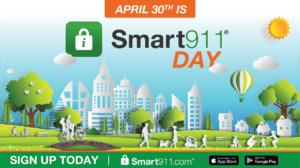 smart911 day social media image