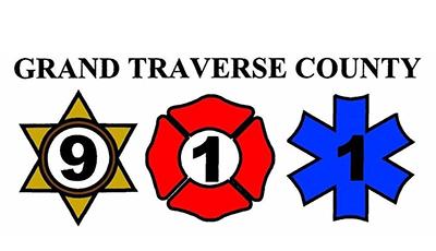grand traverse county 911 logo