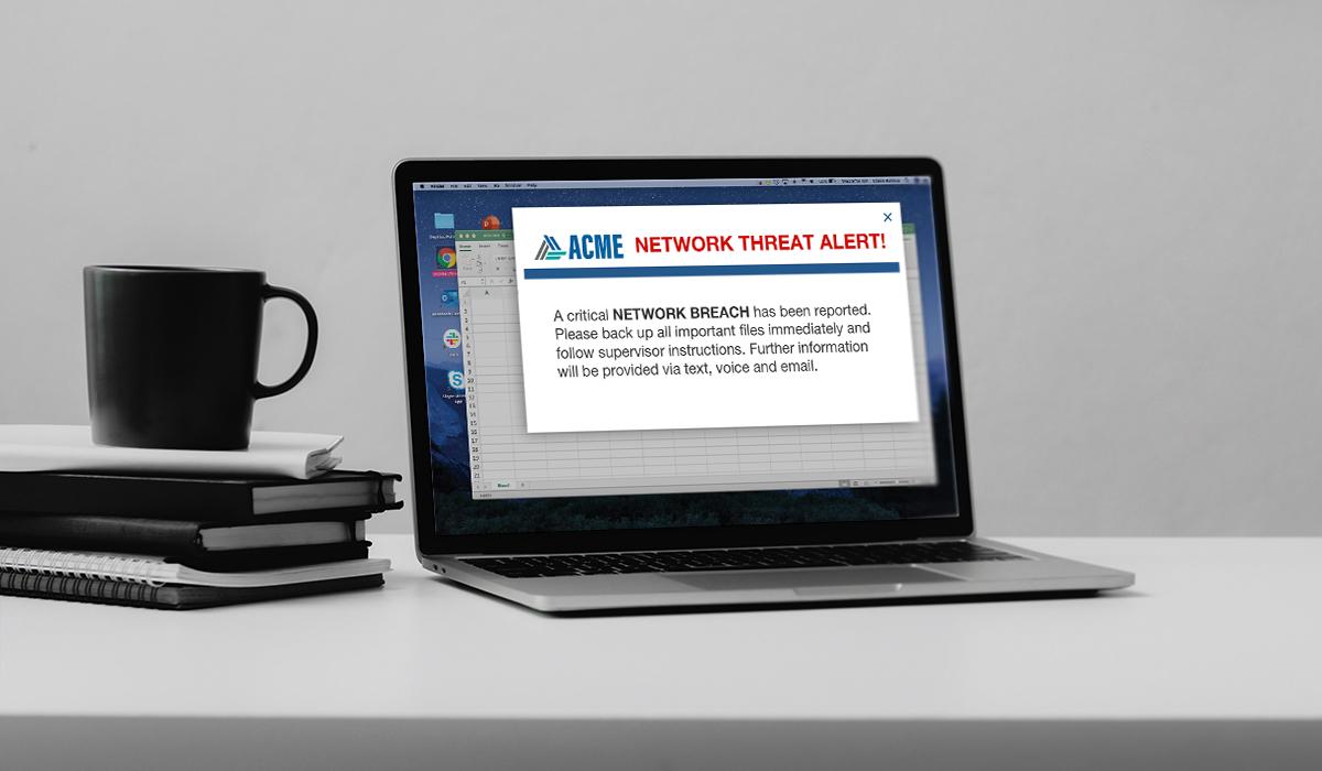 rave notifier alert laptop